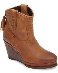 Ariat - Broadway Western Wedge Boot - Lyst