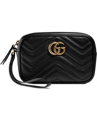 abe42a6d40b7 Gucci - Gg Marmont Matelasse Imitation Pearl Leather Shoulder Bag - - Lyst