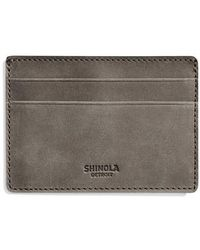 Shinola - Outrigger Id Leather Card Case - - Lyst