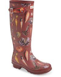 HUNTER Original Tall Rain Boot - Multicolour