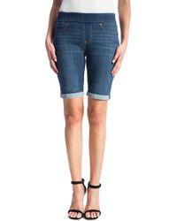Liverpool Jeans Company - Sienna Pull-on Denim Bermuda Shorts - Lyst