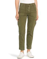 Hudson Jeans Classic High Waist Cargo Pants - Green