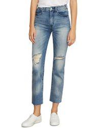 Habitual - Pace Slit Hem Skinny Jeans - Lyst