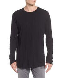 Baldwin Denim - Solid Long Sleeve T-shirt - Lyst