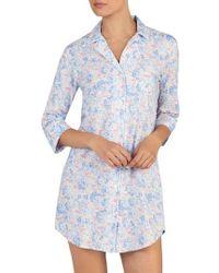 Lauren by Ralph Lauren - Print Sleep Shirt - Lyst