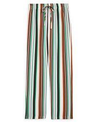 TOPSHOP - Stripe Slouch Pants - Lyst