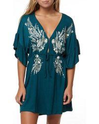 O'neill Sportswear - Mikhaela Keyhole Neck Dress - Lyst