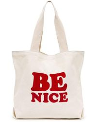 Ban.do | Ban. Do Be Nice Canvas Tote | Lyst