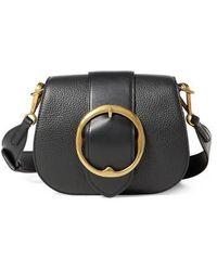 Polo Ralph Lauren   Lennox Leather Saddle Bag   Lyst
