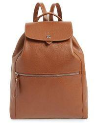 Longchamp - Veau Leather Backpack - Lyst