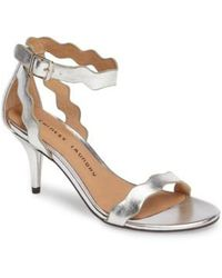 Chinese Laundry - 'rubie' Scalloped Ankle Strap Sandal - Lyst