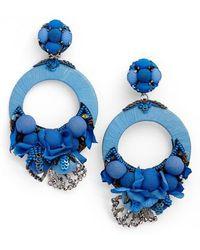 Ranjana Khan | Posie Large Drop Earrings | Lyst