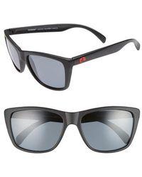 Rheos Gear - Sapelos Floating 60mm Polarized Sunglasses - Gunmetal / Gunmetal - Lyst