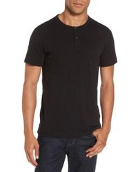 Theory   Gaskell Henley T-shirt   Lyst