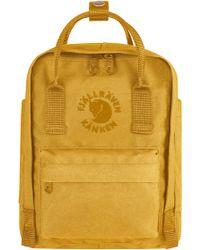 Fjallraven - Fjällräven Mini Re-kånken Water Resistant Backpack - Lyst