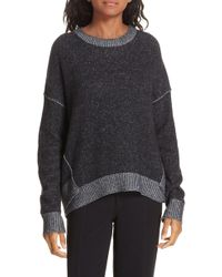 47bc773c27d Elie Tahari 100% Cashmere Raleigh Cropped Overlay Sweater in Natural ...
