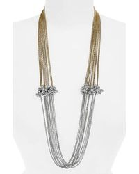 Shiraleah - Serendipity Multistrand Necklace - Lyst