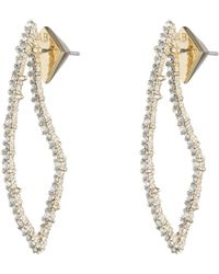 Alexis Bittar - Crystal Encrusted Abstract Thorn Drop Earrings - Lyst
