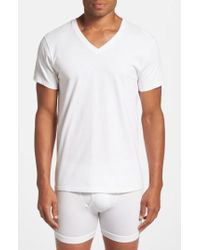 Calvin Klein   2-pack Cotton T-shirt, White   Lyst