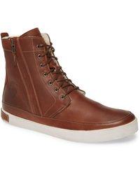 Blackstone 'gm05' High Top Sneaker - Brown