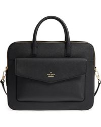 Kate Spade - 13-inch Leather Laptop Bag - - Lyst