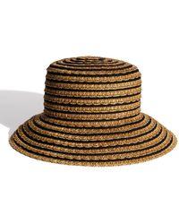 Eric Javits 'braid Dame' Hat - Brown