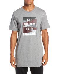 Nike - Longline T-shirt - Lyst