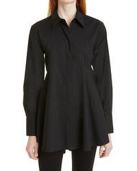 Donna Karan High/low Tunic - Black