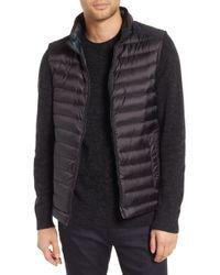 Tumi Down Puffer Hooded Vest - Black
