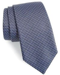 BOSS - Textured Silk Tie - Lyst