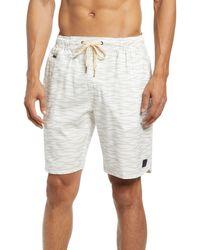 Vintage 1946 Windjammer Hybrid Shorts - White