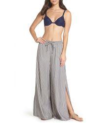Onia - Chloe Wide Striped Pants - Lyst
