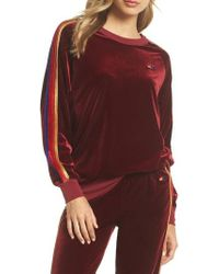 Aviator Nation - Velvet Crewneck Sweatshirt - Lyst