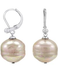 Majorica - Nuage Simulated Pearl Drop Earrings - Lyst