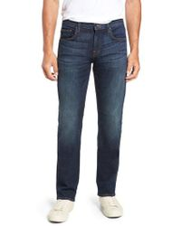 7 For All Mankind - 7 For All Mankind The Straight Luxe Sport Straight Leg Jeans - Lyst