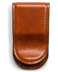 Bosca - Leather Money Clip - Lyst