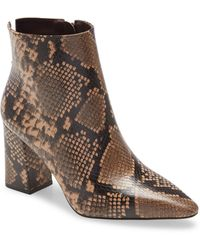 Vince Camuto - Cammen Pointed Toe Bootie - Lyst