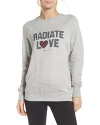 Spiritual Gangster - Radiate Love Classic Sweatshirt - Lyst