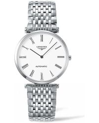 Longines - La Grande Classique De Automatic Bracelet Watch - Lyst