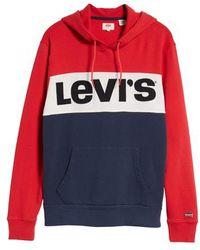 Levi's - Levi's Colorblock Vintage Logo Hoodie - Lyst