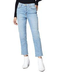 Sanctuary - Alt Crop Straight Leg Jeans - Lyst