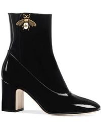 Gucci - Bee Bootie - Lyst