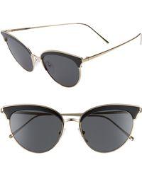 3d4d3426ce Prada - 54mm Cat Eye Sunglasses - - Lyst