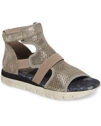 Otbt | Astro Perforated Gladiator Sandal | Lyst