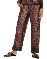 Scotch & Soda Print Pajama Pants - Multicolor
