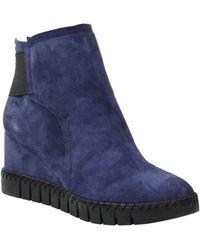 J. Reneé J. Renée Nagetta Wedge Sneaker - Blue
