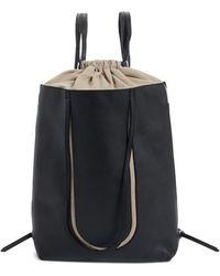 Maison Margiela | Calfskin Leather Backpack | Lyst