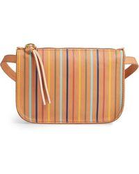 4771e47e9c Madewell - The Simple Rainbow Stripe Pouch Belt Bag - - Lyst