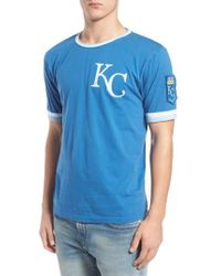 Red Jacket - 'kansas City Royals - Remote Control' Trim Fit T-shirt - Lyst