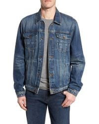 7 For All Mankind - 7 For All Mankind Trucker Jacket - Lyst